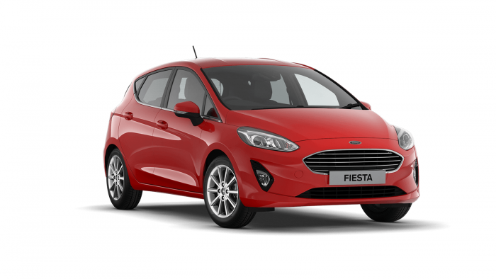 Ford FIESTA Race Red