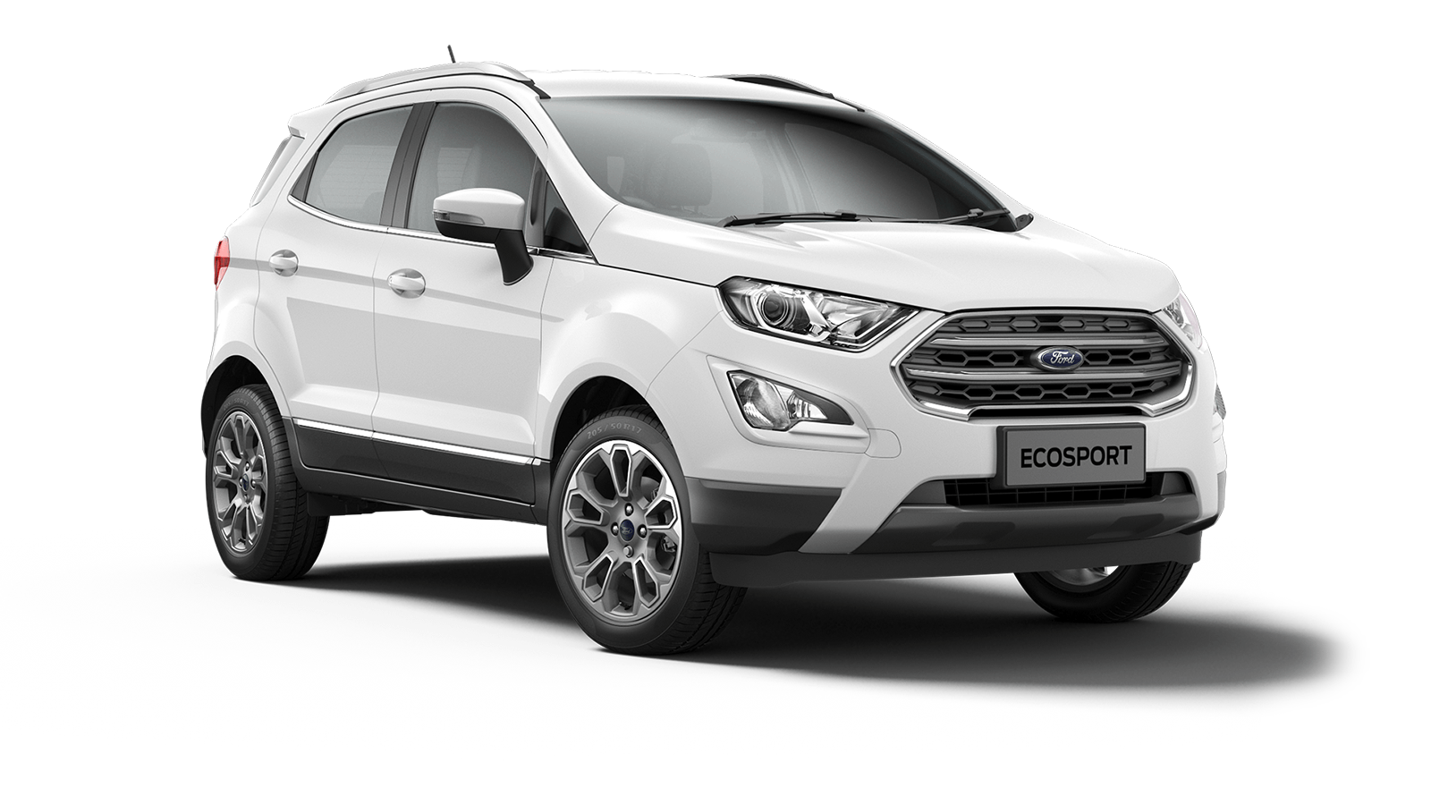 ECOSPORT Titanium 5 Door in Frozen White