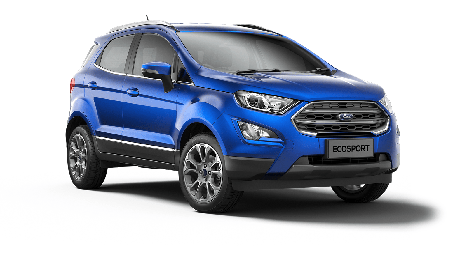 ECOSPORT Titanium 5 Door in Lightning Blue