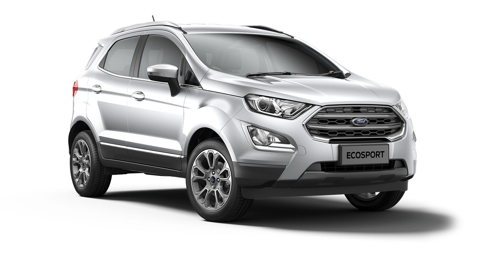 ECOSPORT Titanium 5 Door in Moondust Silver
