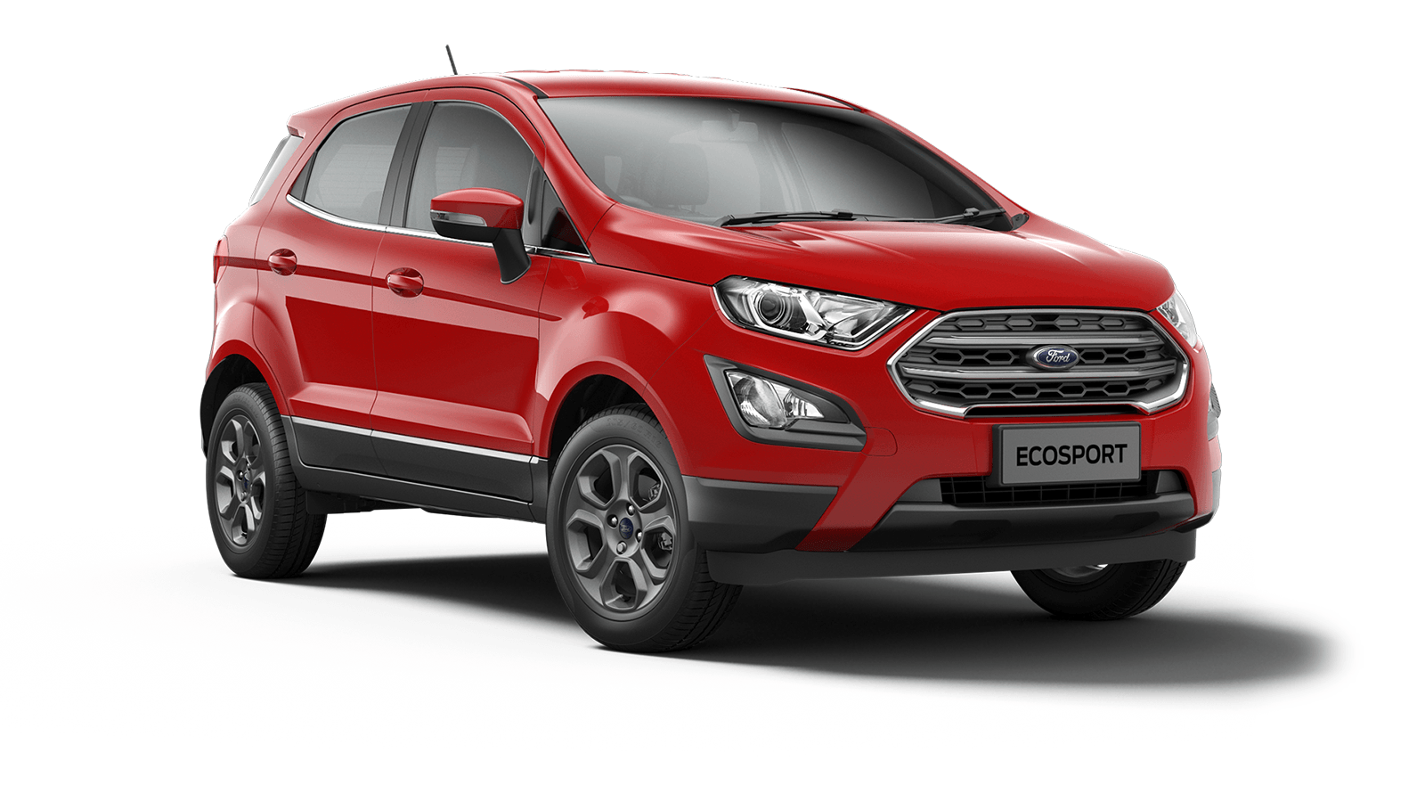 ECOSPORT Zetec 5 Door in Race Red