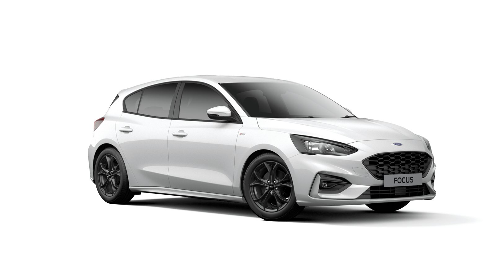 NEW FOCUS ST-Line 5 Door in Frozen White