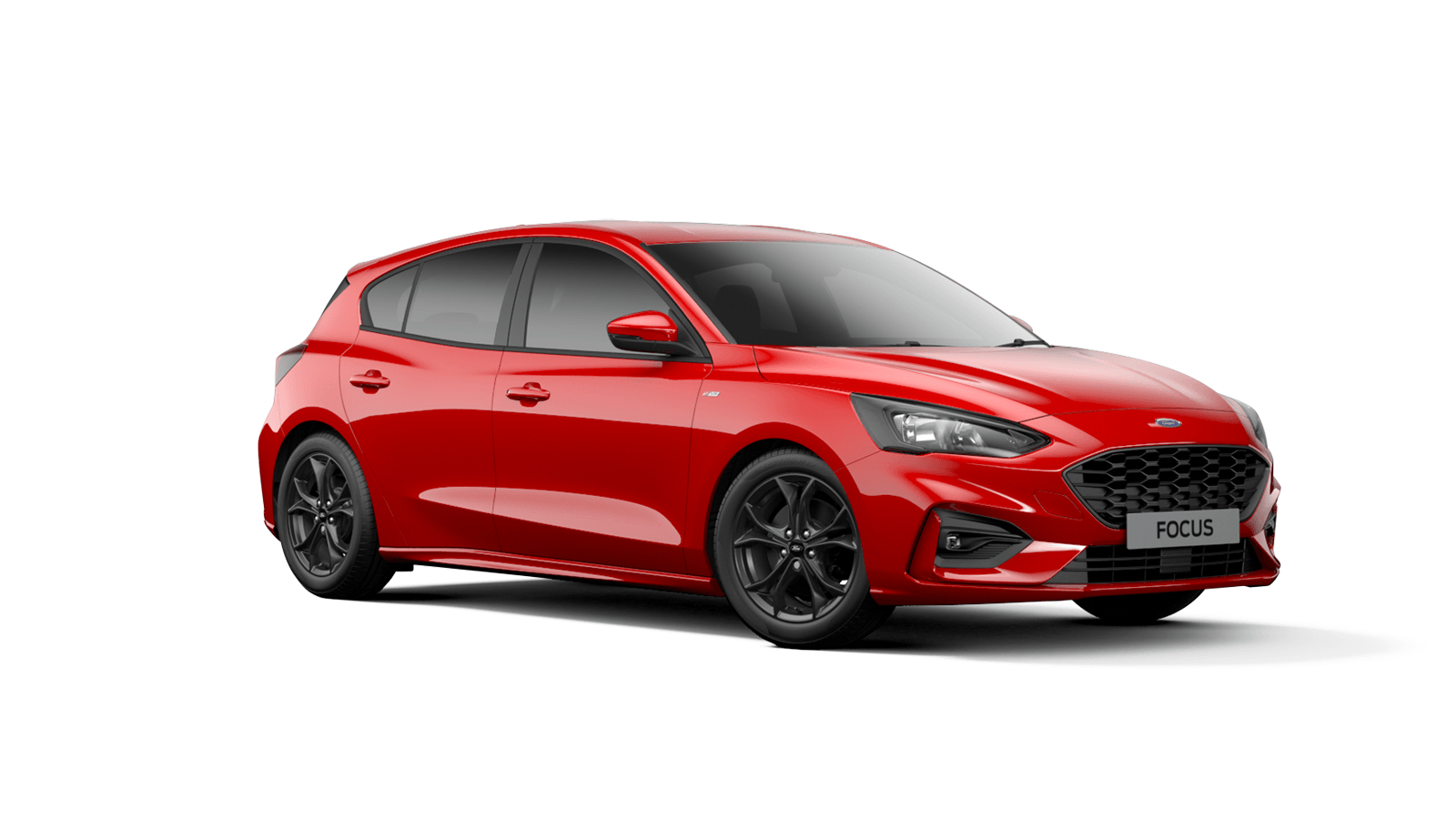 NEW FOCUS ST-Line 5 Door in Race Red