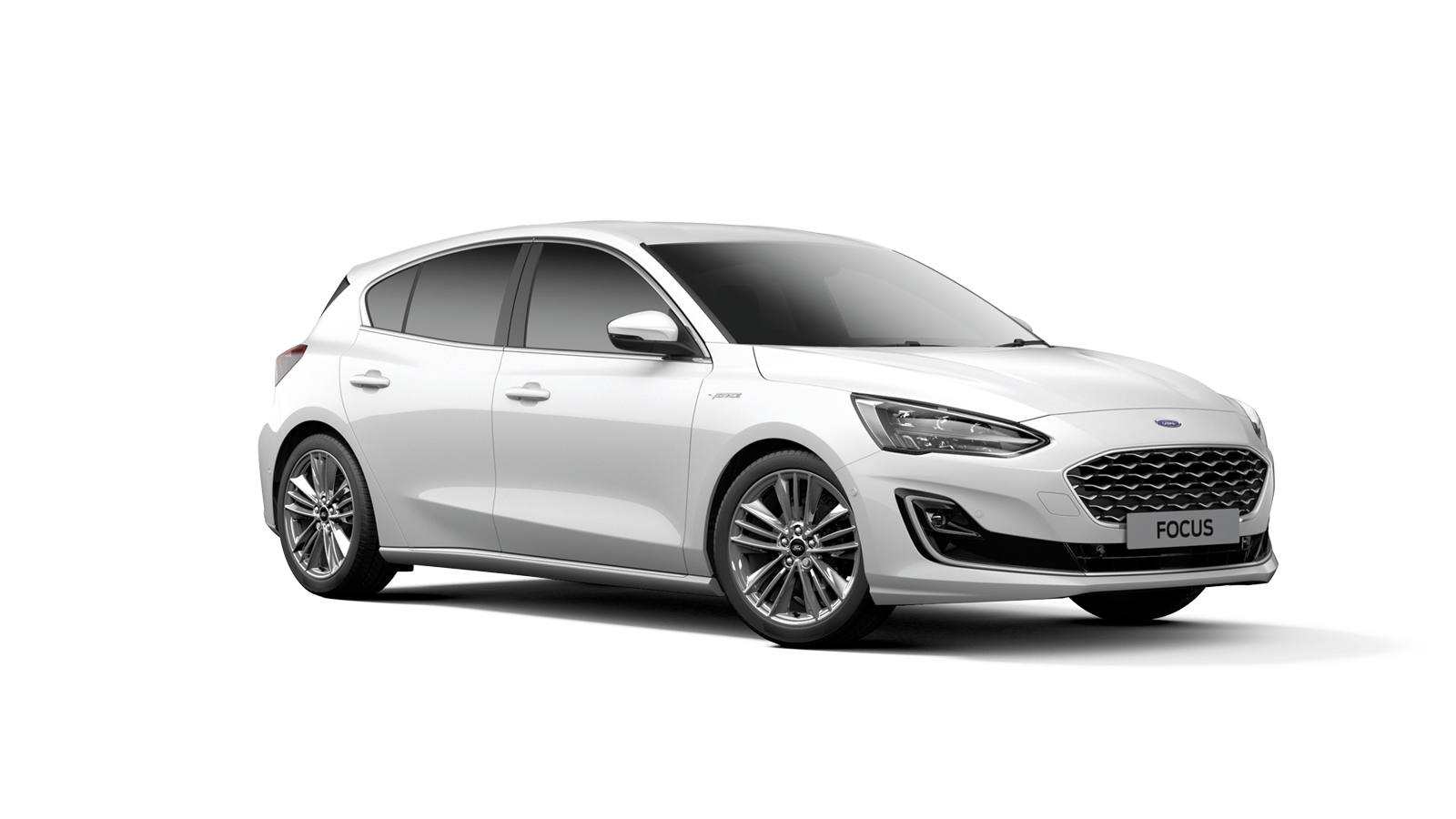 NEW FOCUS Vignale 5 Door in Frozen White