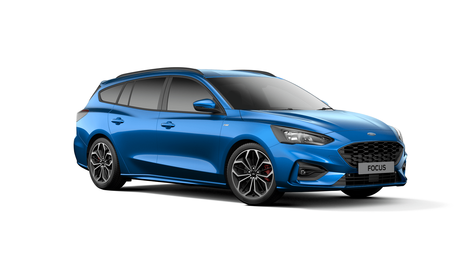 NEW FOCUS ST-Line X Estate in Desert Island Blue