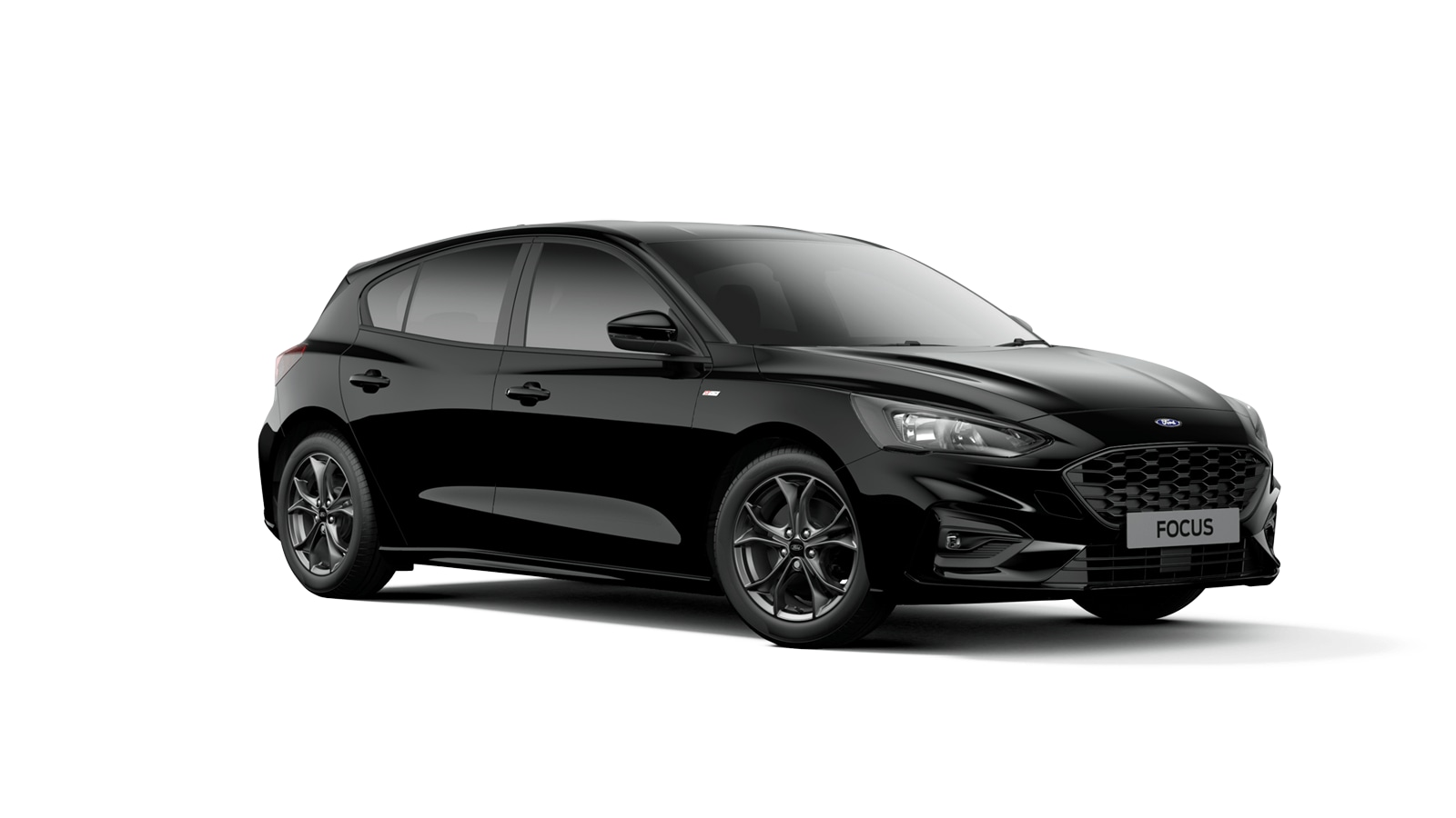 NEW FOCUS ST-Line 5 Door in Shadow Black