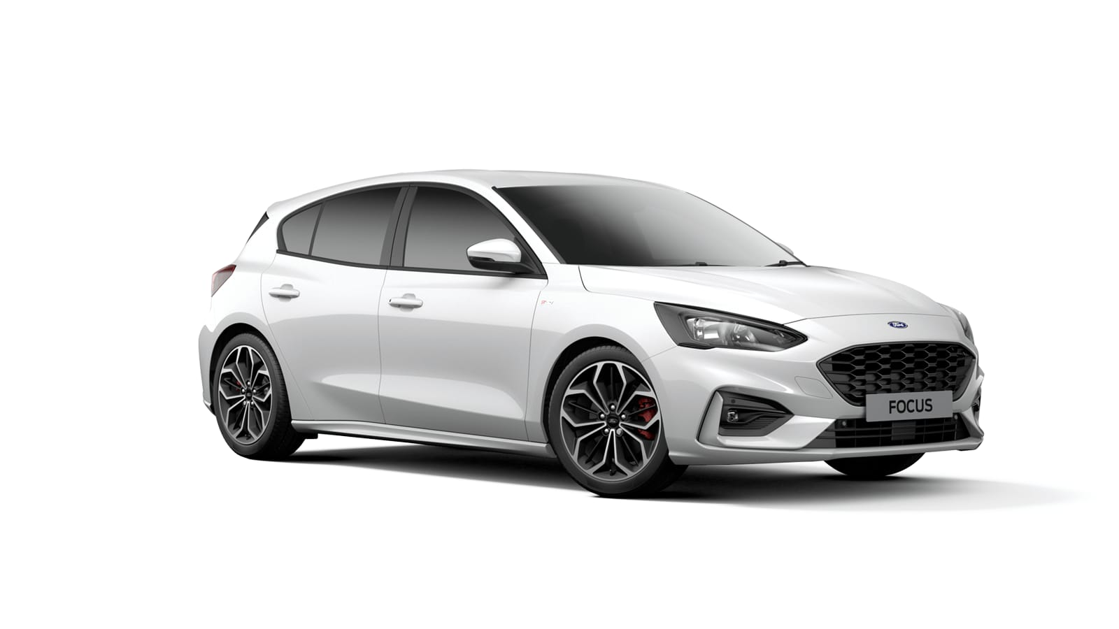 NEW FOCUS ST-Line X 5 Door in Frozen White