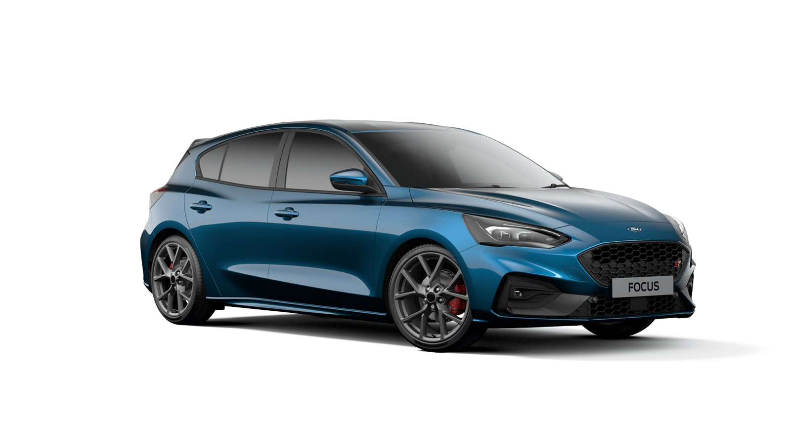 NEW FOCUS ST 5 Door in Ford Performance Blue