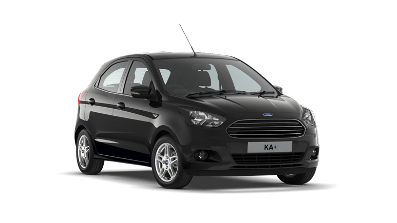New Ford KA+ Shadow Black