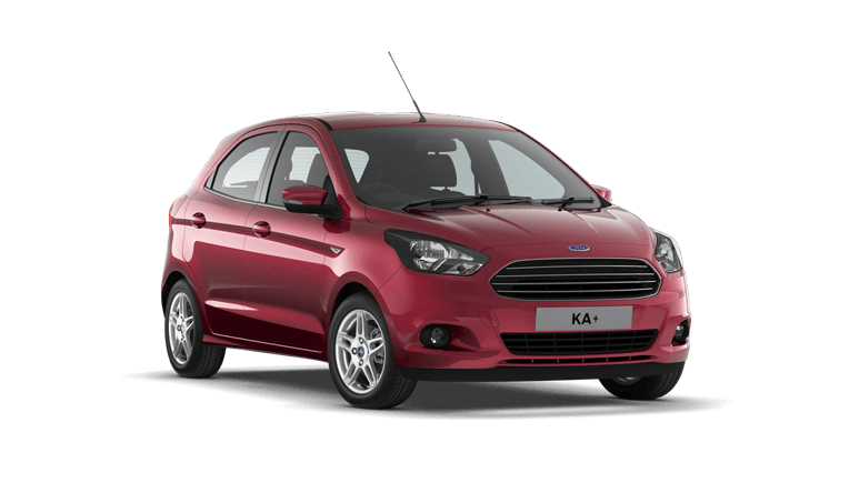 New Ford KA + at Victoria Garage