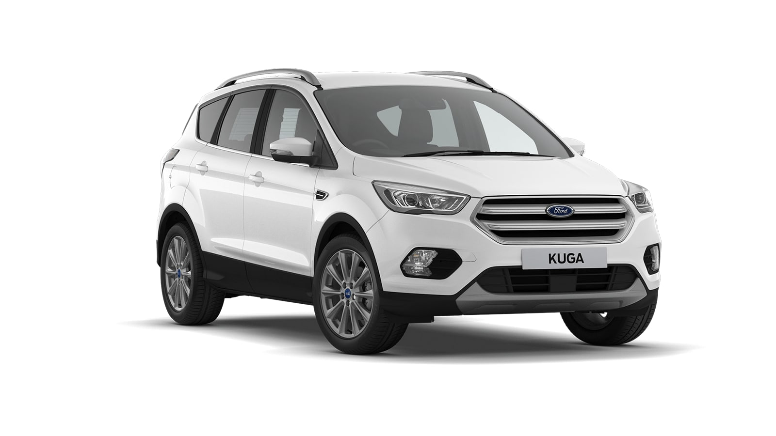 KUGA Titanium Edition 5 Door in Frozen White