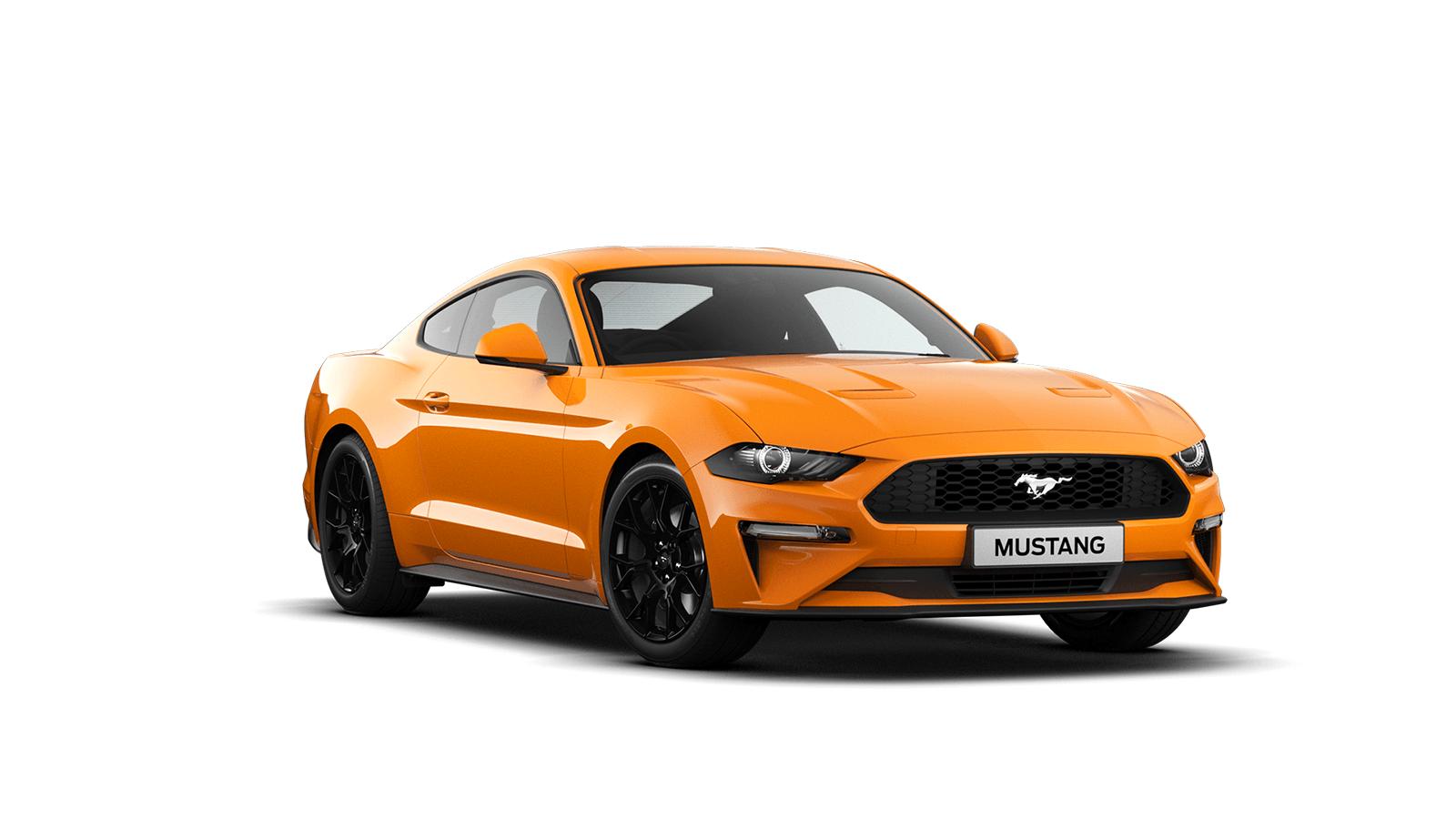 NEW MUSTANG 2.3 EcoBoost Fastback in Orange Fury