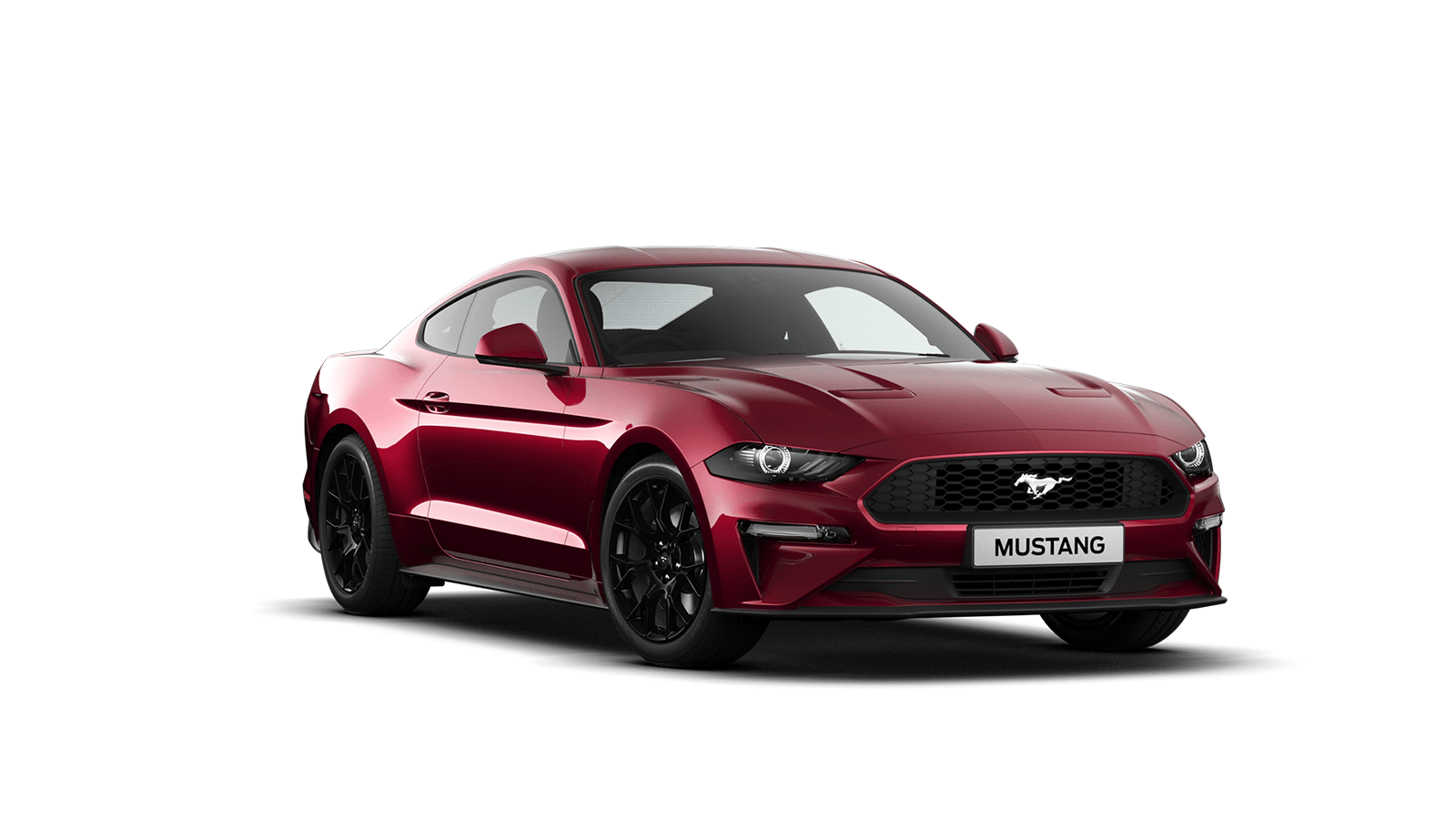 NEW MUSTANG 2.3 EcoBoost Fastback in Ruby Red