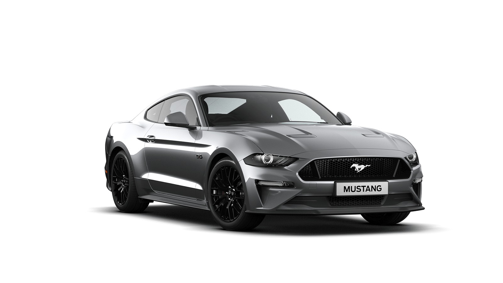 NEW MUSTANG 5.0 V8 GT Fastback in Ingot Silver
