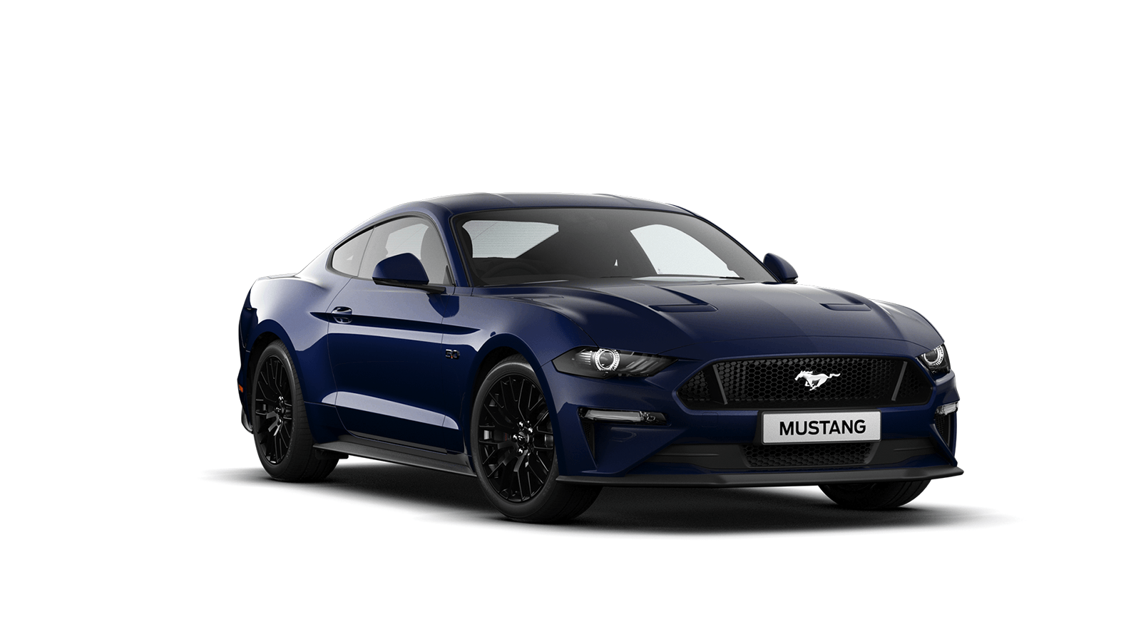 NEW MUSTANG 5.0 V8 GT Fastback in Kona Blue