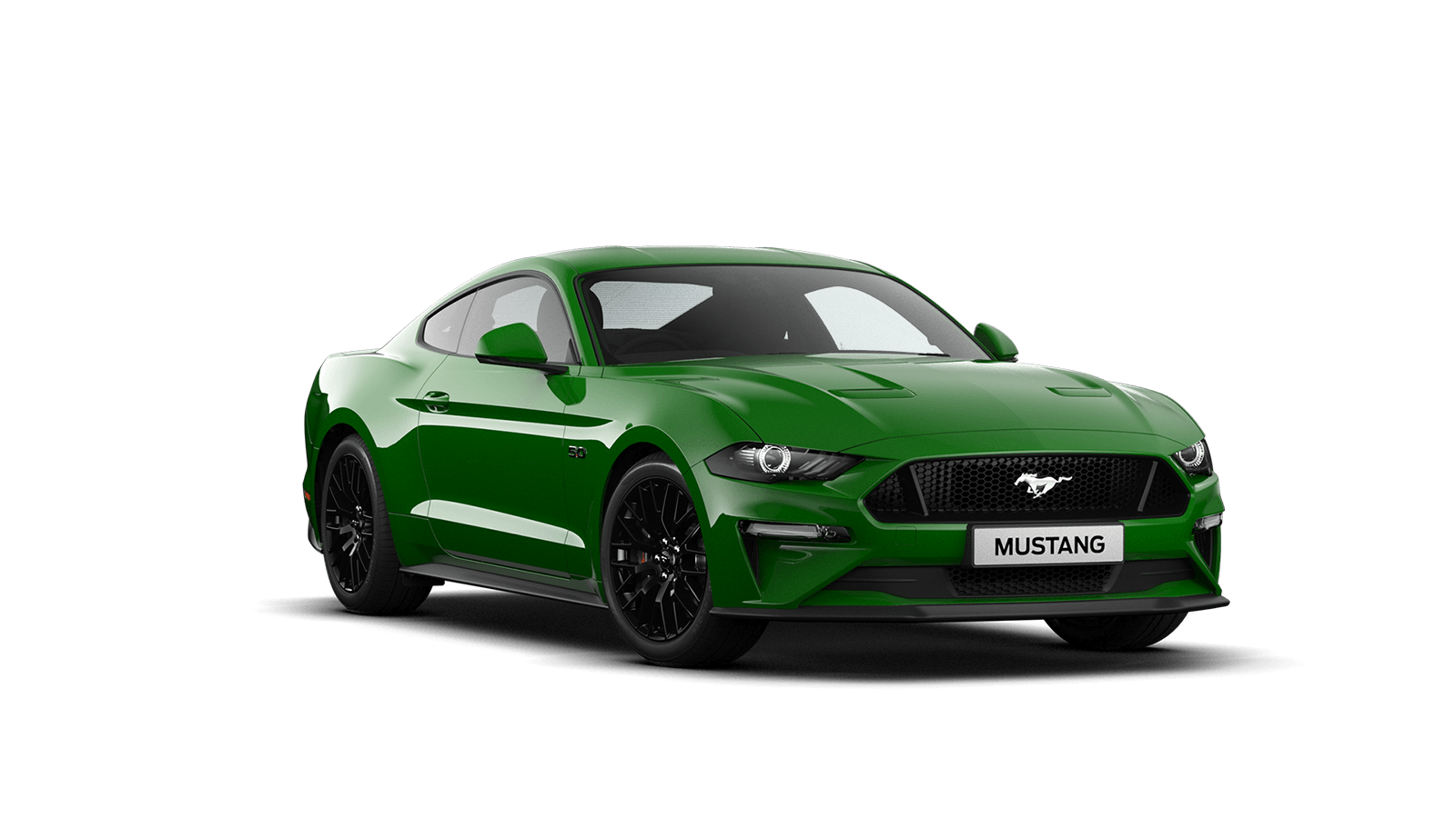 NEW MUSTANG 5.0 V8 GT Fastback in Need For Green