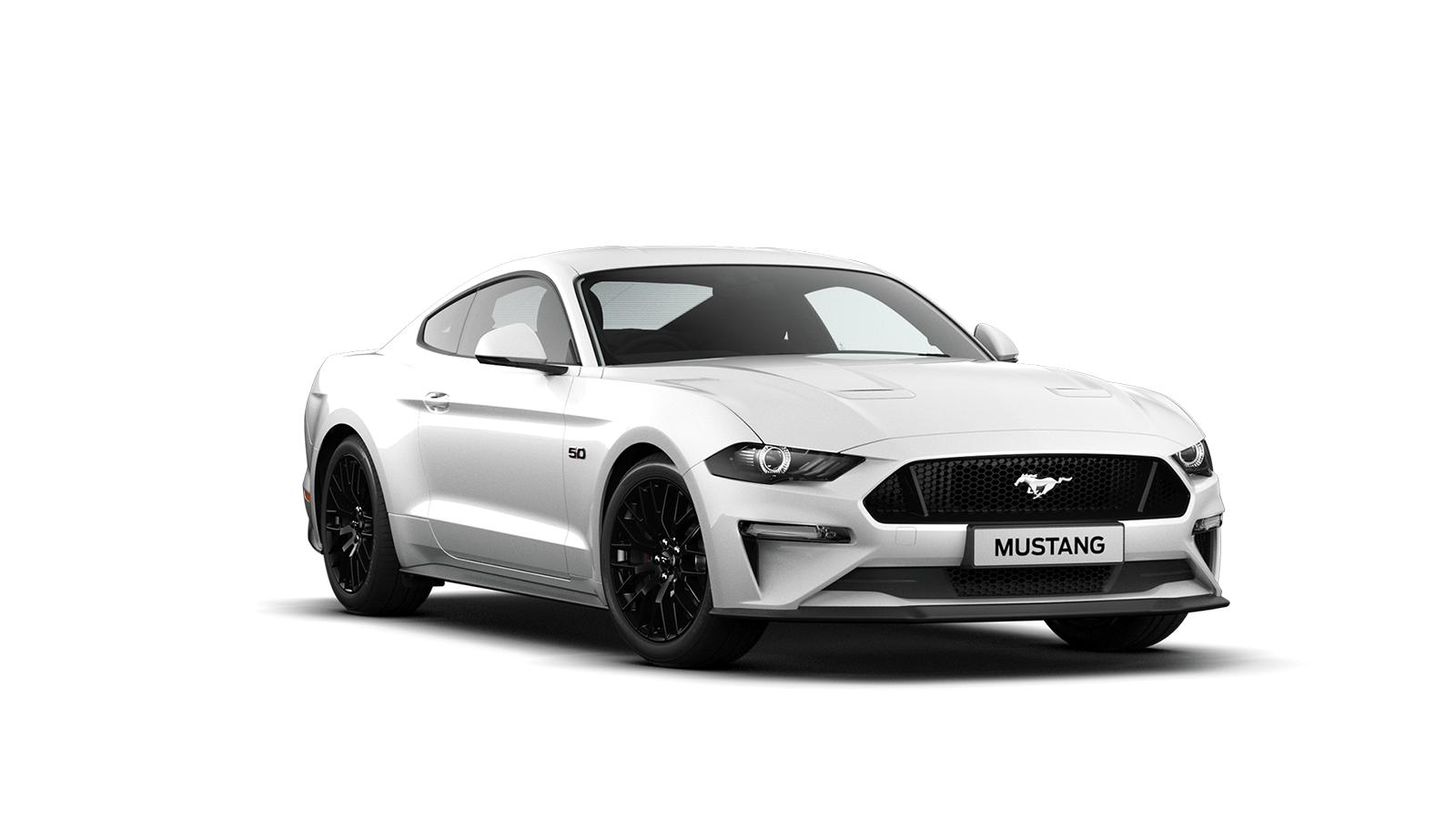NEW MUSTANG 5.0 V8 GT Fastback in Oxford White