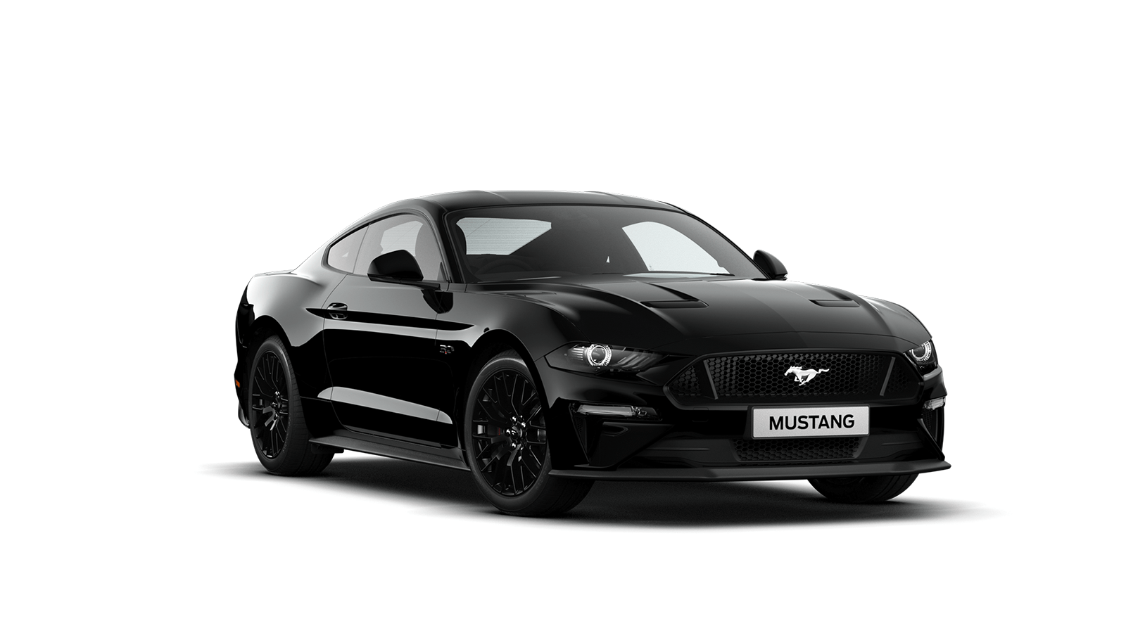 NEW MUSTANG 5.0 V8 GT Fastback in Shadow Black