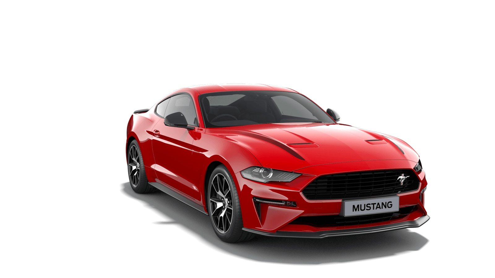NEW MUSTANG 2.3 EcoBoost Fastback in Race Red