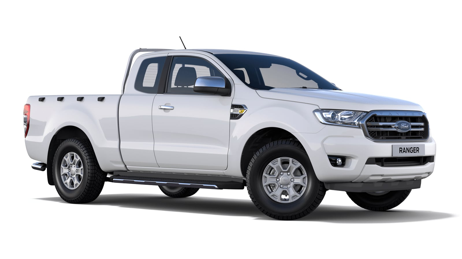 NEW RANGER XLT Super Cab in Frozen White
