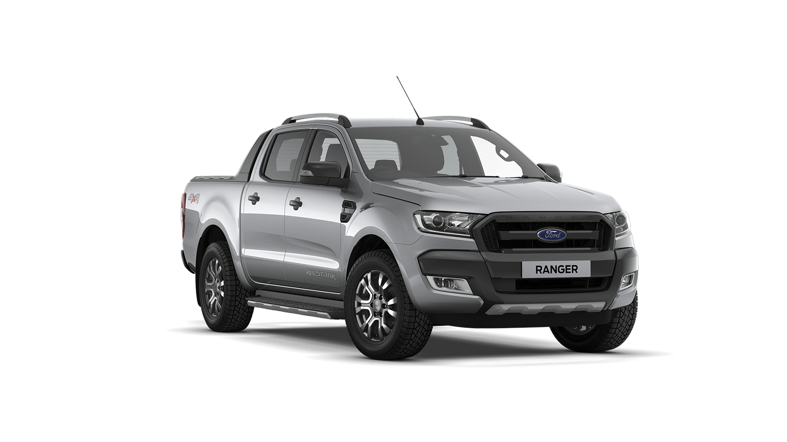 RANGER Wildtrak Double Cab in Moondust Silver
