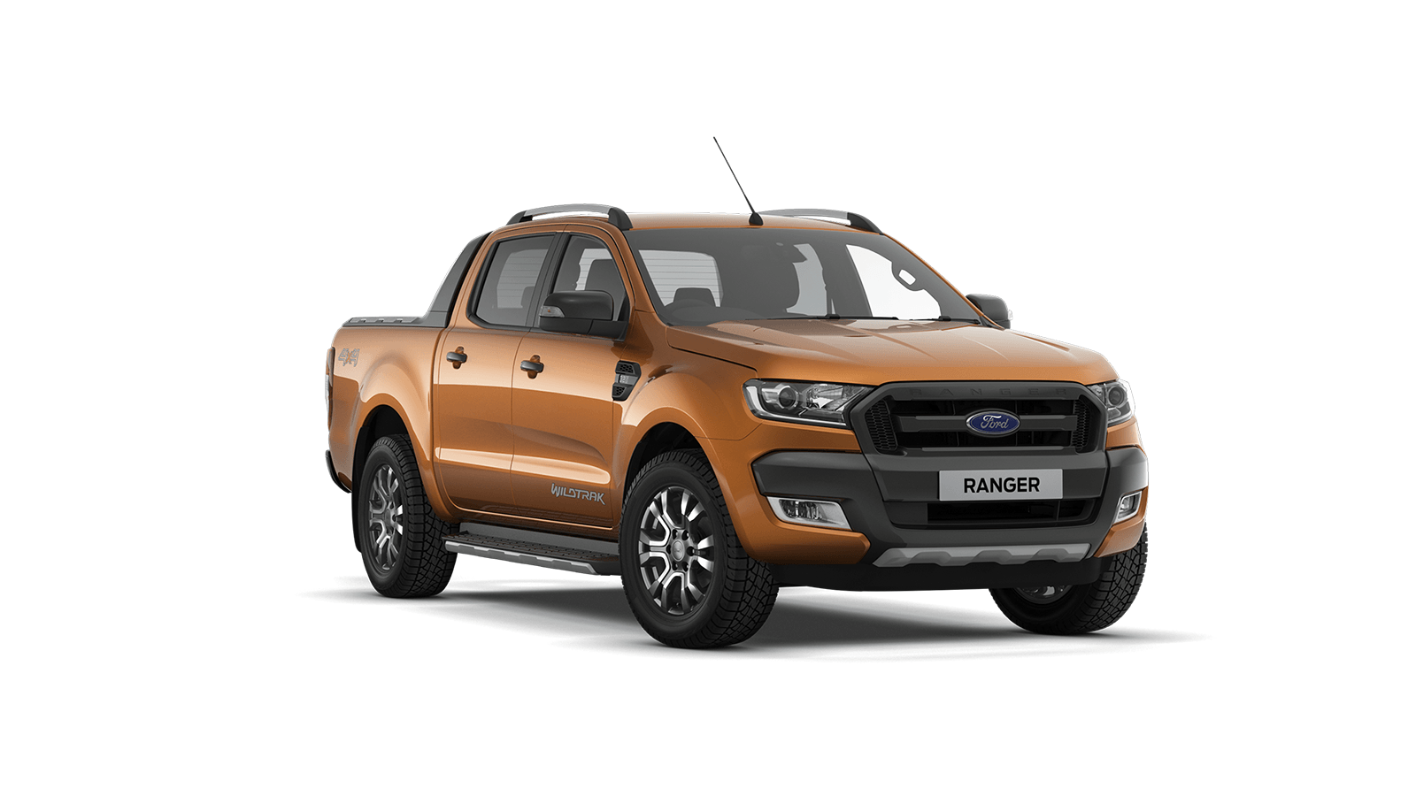 RANGER Wildtrak Double Cab in Pride Orange