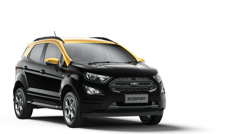 ECOSPORT ST-Line 5 Door in Agate Black