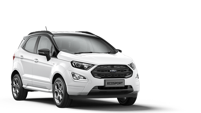 ECOSPORT ST-Line 5 Door in Frozen White