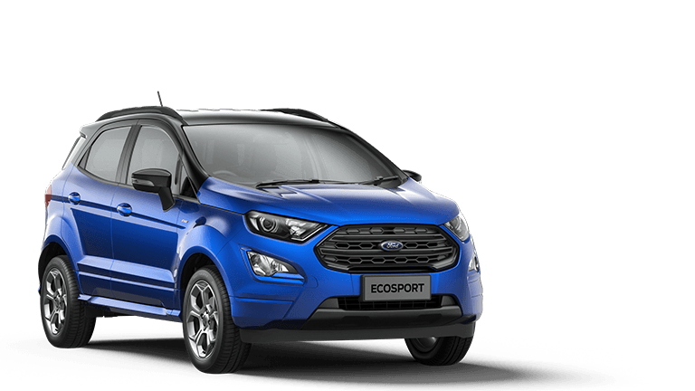 ECOSPORT ST-Line 5 Door in Lightning Blue