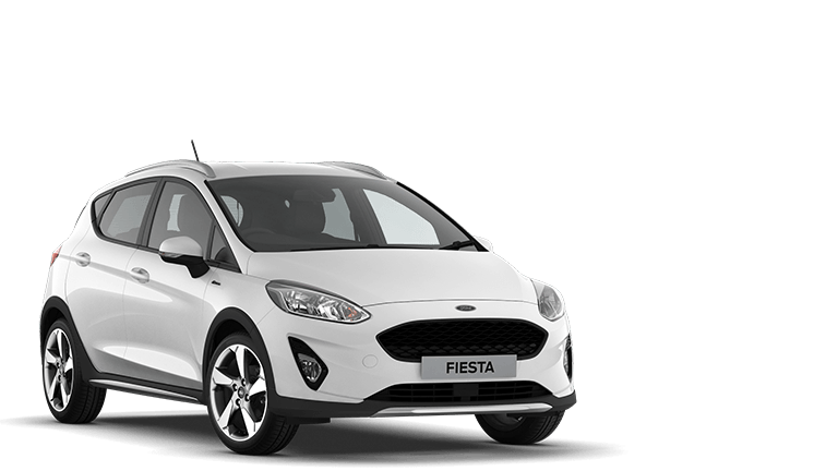 FIESTA Active 1 5 Door in Frozen White