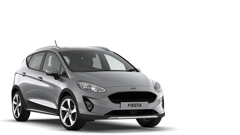 FIESTA Active 1 5 Door in Moondust Silver