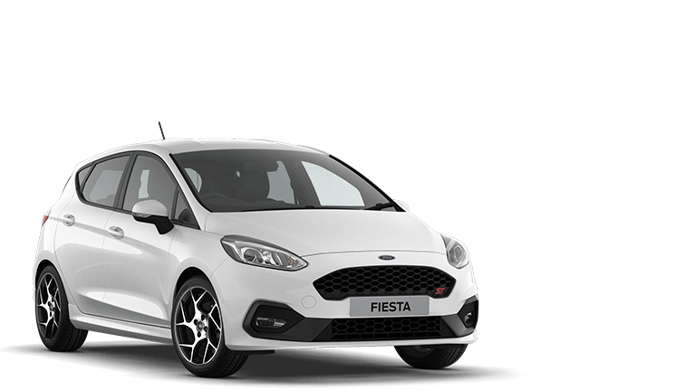 FIESTA ST ST-2 5 Door in Frozen White
