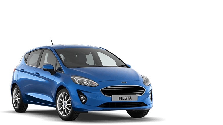 FIESTA Titanium 5 Door in Desert Island Blue