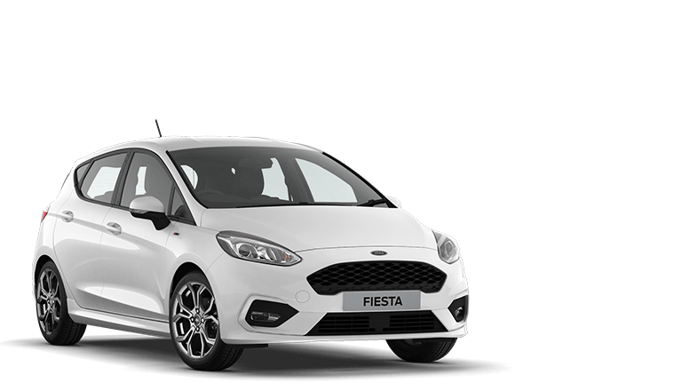 FIESTA ST-Line 5 Door in Frozen White