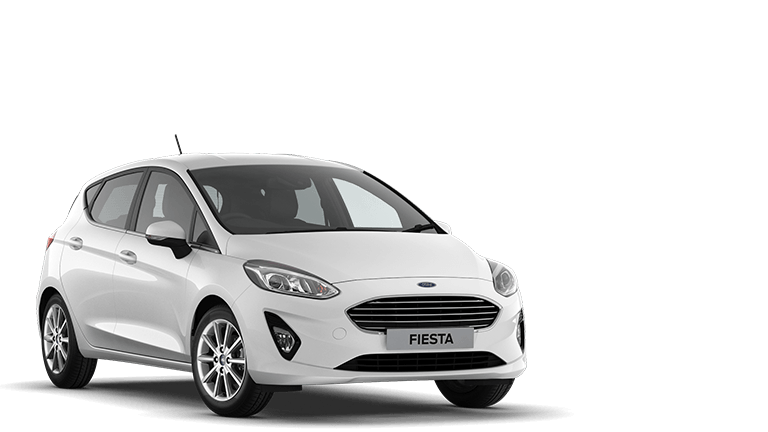 FIESTA Titanium 5 Door in Frozen White