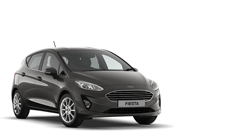 FIESTA Titanium 5 Door in Magnetic