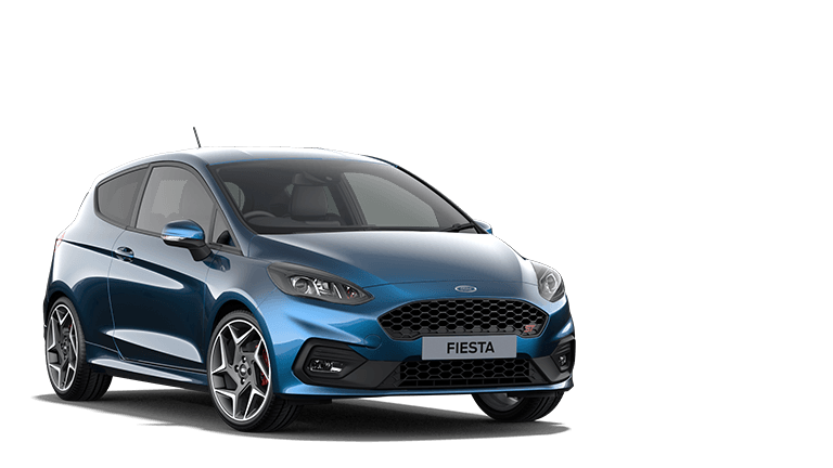 FIESTA ST ST-3 3 Door in Ford Performance Blue