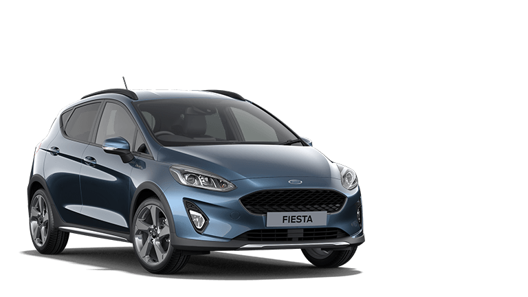 FIESTA Active Edition 5 Door in Chrome Blue