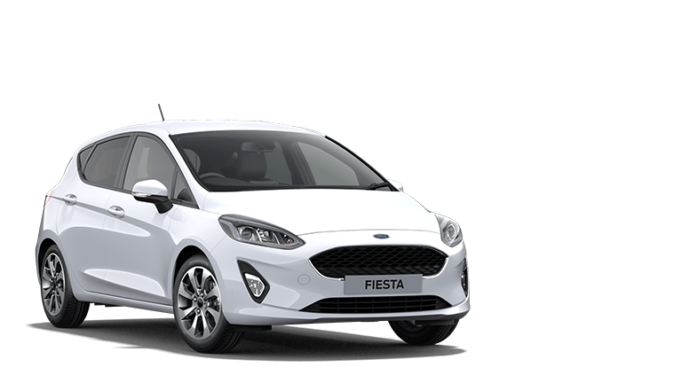 FIESTA Trend 5 Door in Frozen White