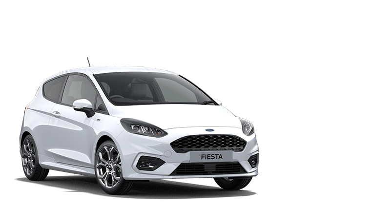 FIESTA ST-Line Edition 3 Door in Frozen White