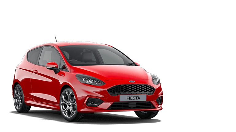 NEW FIESTA MHEV ST-Line Edition mHEV 3 Door in Race Red