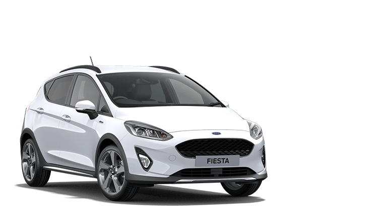 FIESTA Active Edition 5 Door in Frozen White