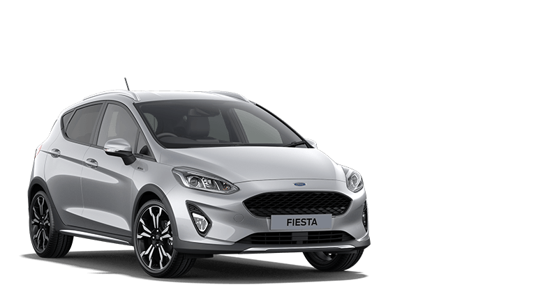 NEW FIESTA MHEV Active X Edition mHEV 5 Door in Moondust Silver