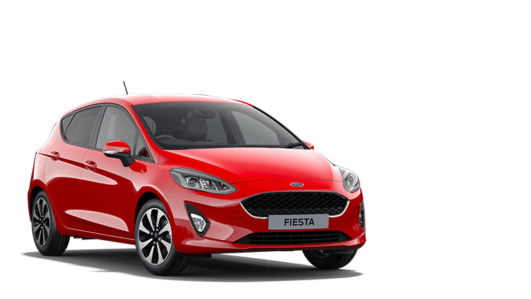 NEW FIESTA MHEV Trend mHEV 5 Door in Race Red