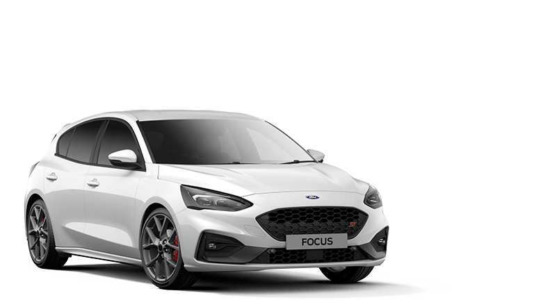 NEW FOCUS ST 5 Door in Frozen White