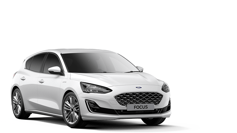 FOCUS Vignale 5 Door in Frozen White