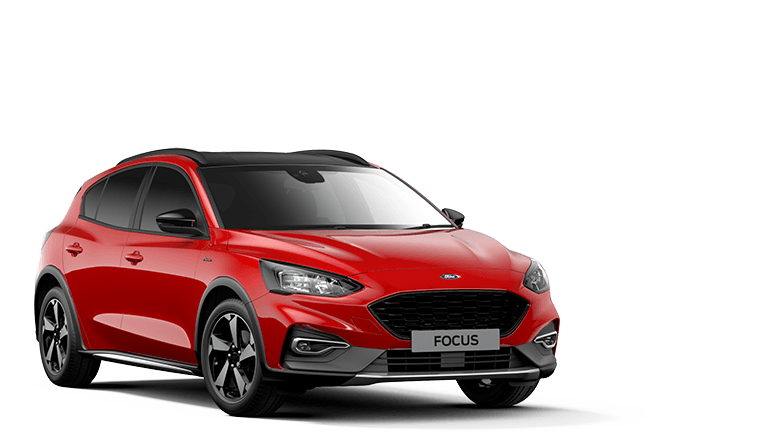 FOCUS Active 5 Door in Race Red