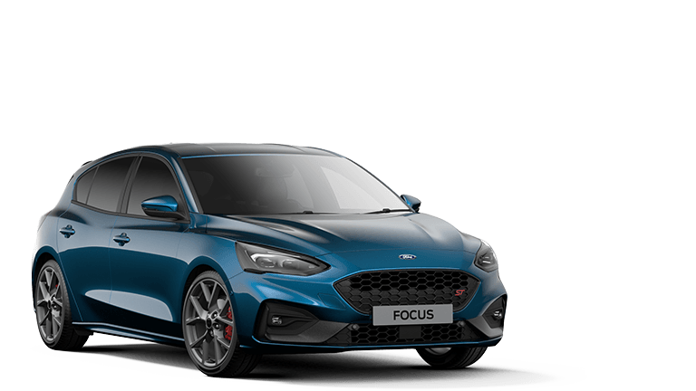 FOCUS ST ST 5 Door in Ford Performance Blue