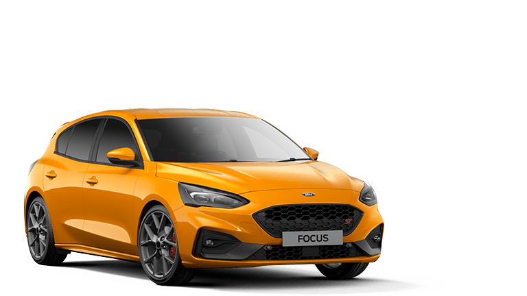 NEW FOCUS ST 5 Door in Orange Fury