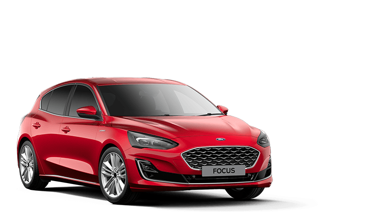 NEW FOCUS MHEV Vignale Edition mHEV 5 Door in Fantastic Red